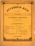 Otterbein Aegis September 1890 by Otterbein University