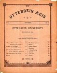 Otterbein Aegis October 1890 by Otterbein University