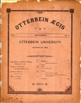 Otterbein Aegis November 1890 by Otterbein University