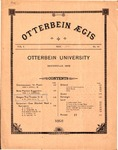 Otterbein Aegis May 1891 by Otterbein University