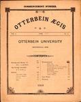 Otterbein Aegis June 1891 by Otterbein Aegis