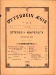 Otterbein Aegis October 1891 by Otterbein Aegis