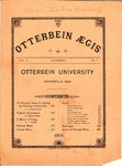 Otterbein Aegis November 1891 by Otterbein University