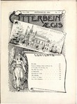 Otterbein Aegis September 1892 by Otterbein University