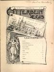 Otterbein Aegis February 1894 by Otterbein Aegis