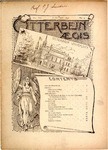 Otterbein Aegis January 1897 by Otterbein University