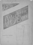 Otterbein Aegis September 1900 by Otterbein University