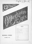 Otterbein Aegis October 1900 by Otterbein University