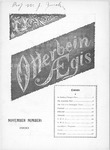Otterbein Aegis November 1900 by Otterbein University
