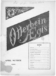 Otterbein Aegis April 1901 by Otterbein University