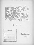 Otterbein Aegis September 1901 by Otterbein University