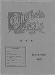 Otterbein Aegis November 1901 by Otterbein University