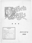 Otterbein Aegis January 1902 by Otterbein University