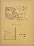 Otterbein Aegis January 1903