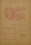 Otterbein Aegis March 1904