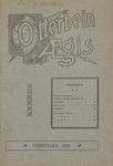 Otterbein Aegis February 1906
