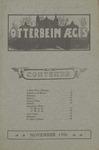 Otterbein Aegis November 1906