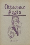 Otterbein Aegis March 1912