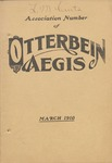 Otterbein Aegis March 1910