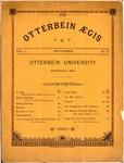 Otterbein Aegis September 1890