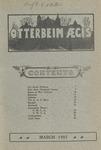 Otterbein Aegis March 1907