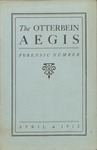 Otterbein Aegis April 1913