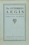 Otterbein Aegis - April 1913