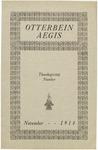 Otterbein Aegis November 1914
