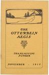 Otterbein Aegis November 1915 by Otterbein Aegis