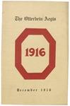Otterbein Aegis December 1916 by Otterbein Aegis