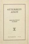 Otterbein Aegis November 1916