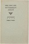 Otterbein Aegis September 1916