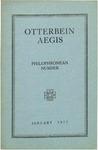 Otterbein Aegis January 1917 by Otterbein Aegis