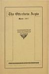 Otterbein Aegis March 1917 by Otterbein Aegis