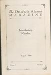 August 1926 The Otterbein Alumni Magazine