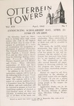 April 1942 Otterbein Towers by Otterbein University
