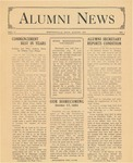 Alumni News VOL. V. No. 1