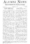 Alumni News Vol. X, No's 5,6 by Otterbein University