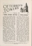 Otterbein Towers September 1941 by Otterbein University
