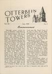 Otterbein Towers June 1939