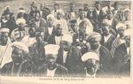 Native Men at Celebration of Coronation of Edward VII, Sierra Leone