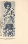 Freetown Dancer in Native Dress