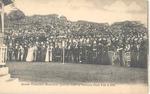 Queen Victoria's Memorial, Service held in Victoria Park February 2, 1901