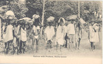Natives with produce, Sierra Leone