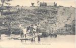 Fishing on rafts, Moyamba, Sierra Leone