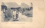 Two Temne lovers, Sierra Leone