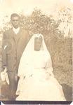 Wedding portrait of Franklin & Lizzie Terry