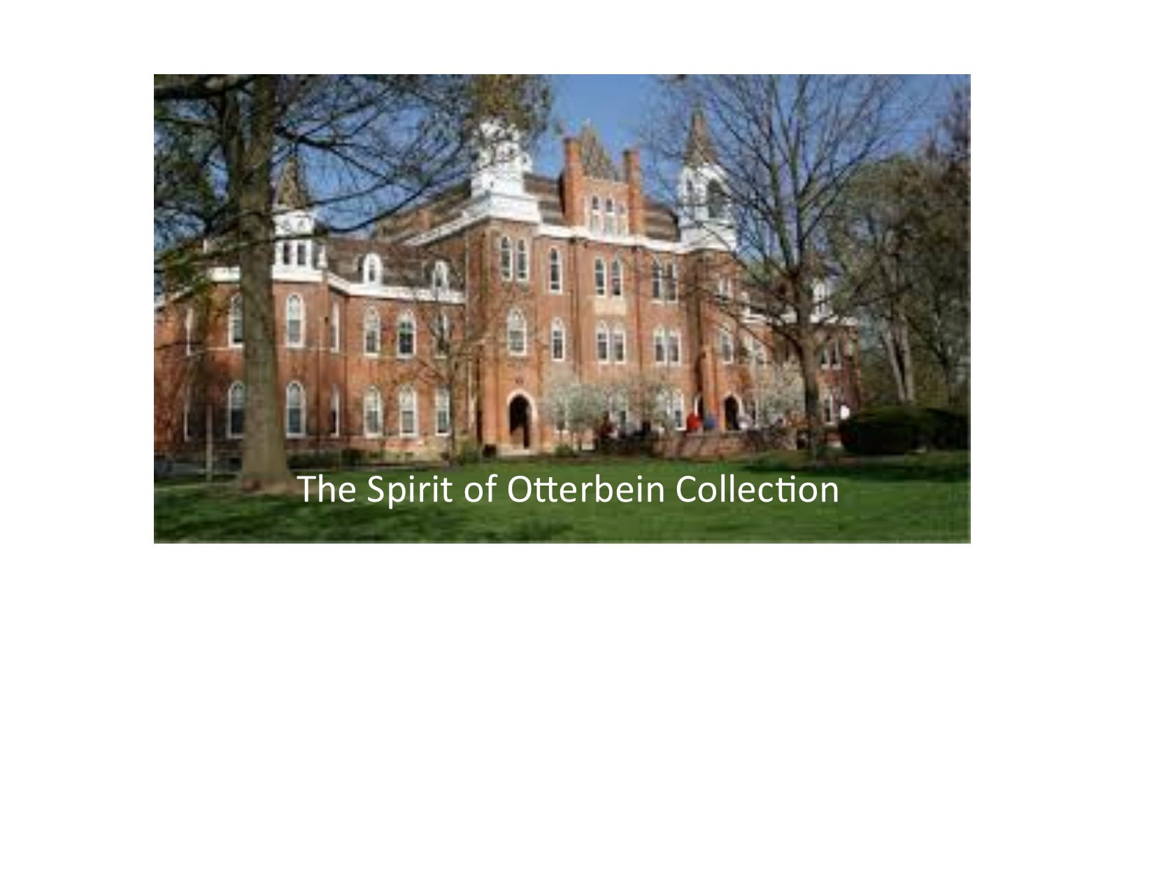 otterbein dating On that date in 1800, a group of ministers met in frederick, maryland, and took  two significant actions: they elected the first bishops (otterbein and boehm), and .