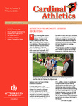 2012 Cardinal Athletics Vol.6, Issue 1, Winter