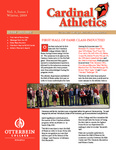 Cardinal Athletics Winter 2009 by Otterbein University